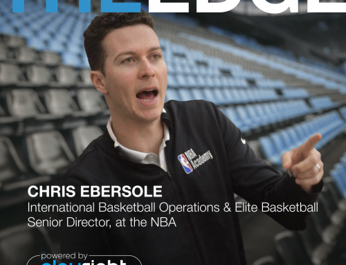 The Edge: Chris Ebersole on Basketball without Borders, the NBA's Return to Play and more